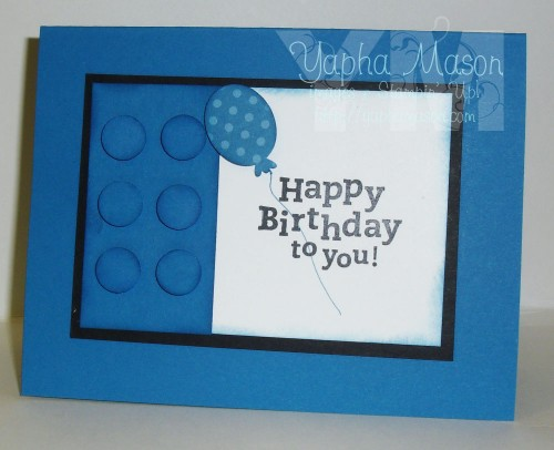 Lego Birthday Card by Yapha Mason