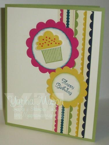 Create a Cupcake Birthday Card by Yapha