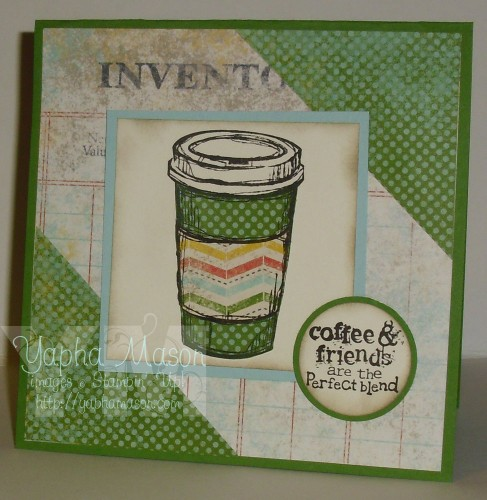Coffee & Friends Perfect Blend Card by Yapha