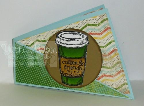 Twisted Coffee Card by Yapha Mason