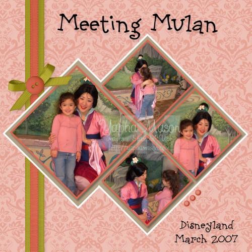 Meeting Mulan by Yapha Mason