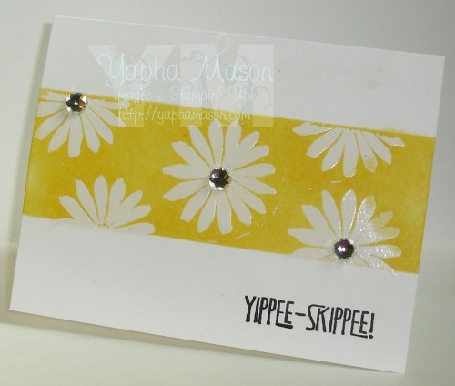Yippee Skippee One Layer Card by Yapha Mason