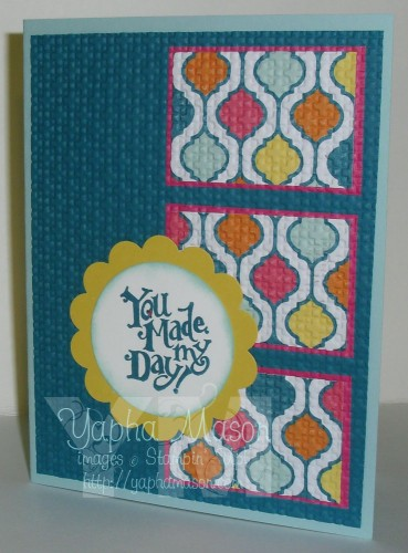 You Made My Day card by Yapha Mason