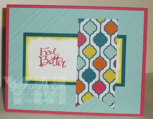 Bright & Happy Feel Better Soon Card by Yapha Mason