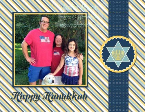 Hanukkah Digital Card by Yapha Mason