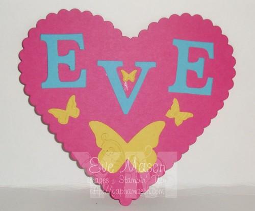 Door Sign by Eve