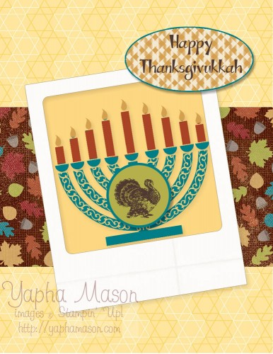 Happy Thanksgivukkah by Yapha Mason