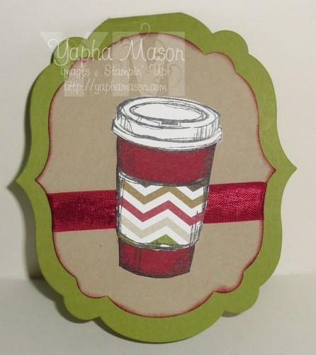 Perfect Blend Gift Card Holder by Yapha Mason