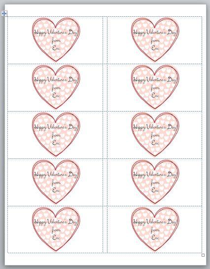 Crunch Valentine Heart