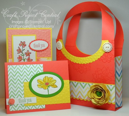Floral Purse Card Set