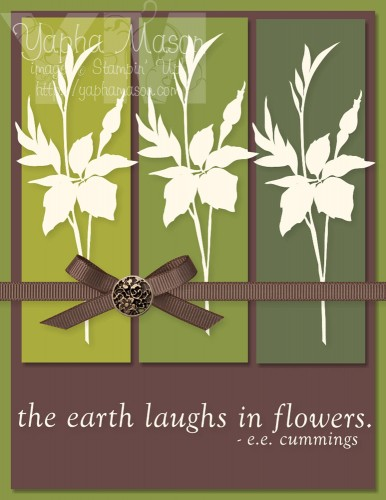 Fabulous Florets Card 2 by Yapha Mason