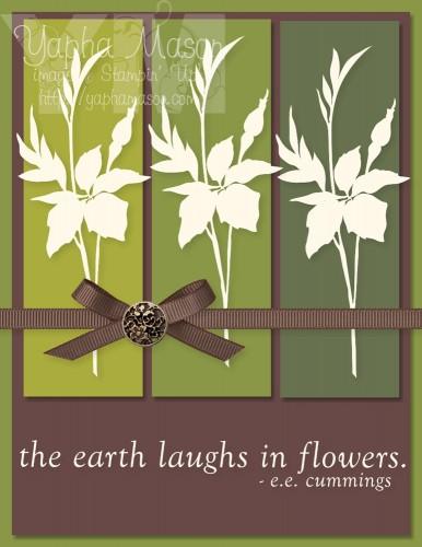 Fabulous Florets Card 2 by Yapha Mason