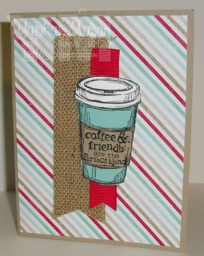 Perfect Blend Coffee Card by Yapha Mason