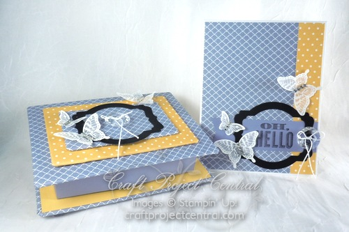 Elegant Gift Box & Card