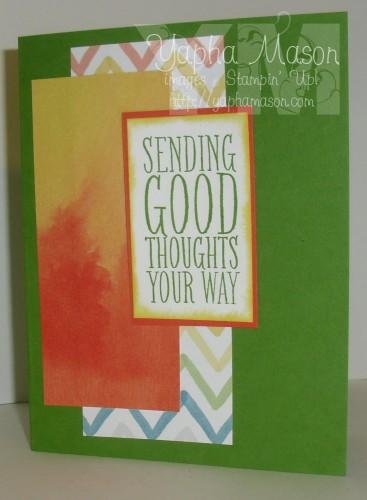 Sending Good Thoughts by Yapha Mason