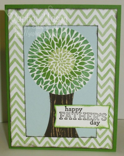 Betsy's Blossom Tree Card by Yapha Mason