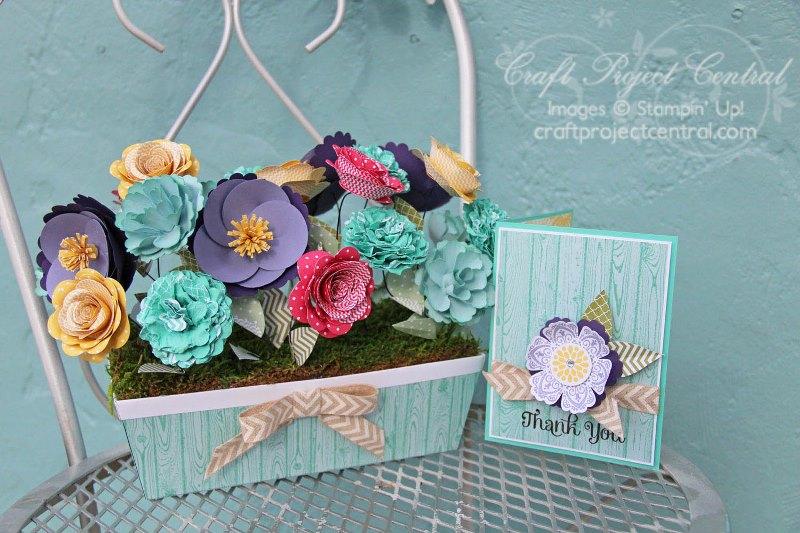 Designer Garden Window Box & Card