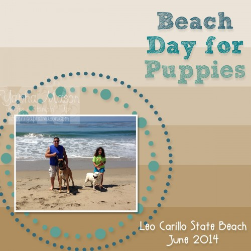Beach Day for Puppies by Yapha Mason