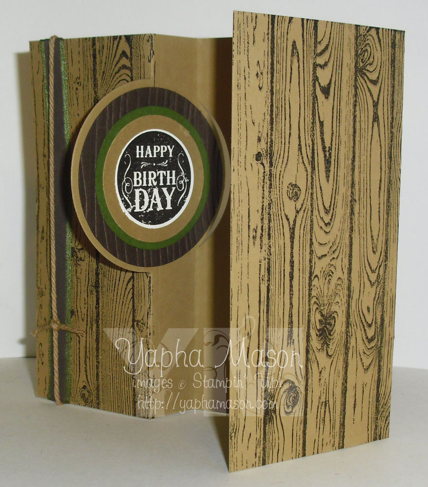 Lovely as a Tree Card by Yapha