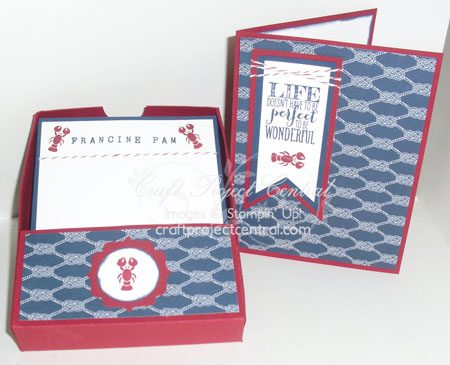 Lobster Notecard Gift Set