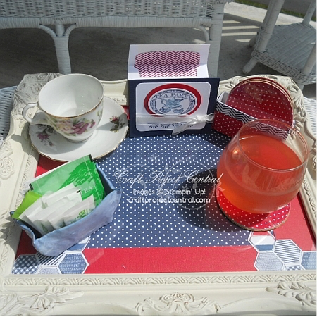 Summer Tea Tray