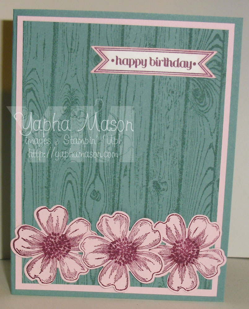Hardwood & Flowers by Yapha