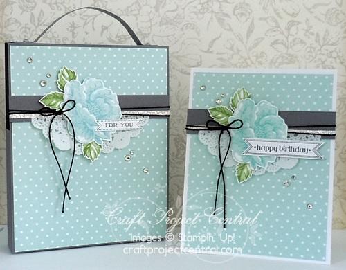 Elegant Greeting Card Set & Box