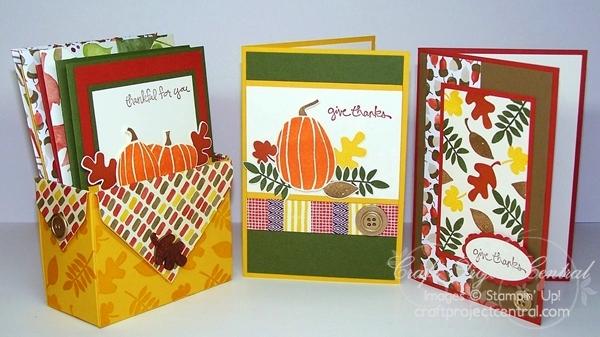 Fall Fest Card Box Set