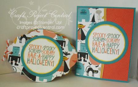 Halloween Mini Scrapbook & Card
