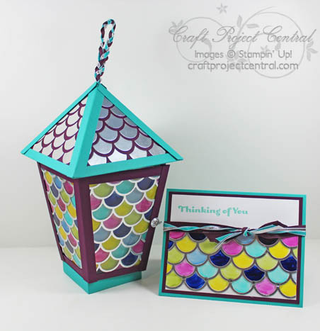 Stained Glass Lantern & Card