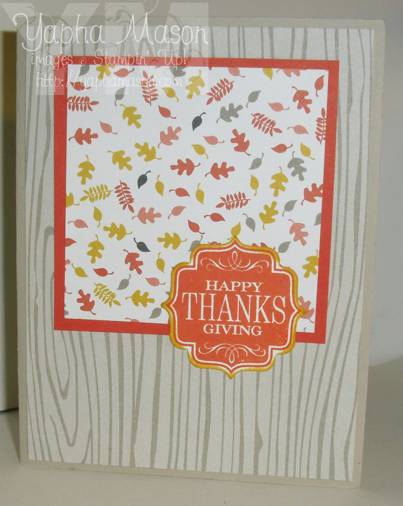 Tags 4 You Thanksgiving card by Yapha