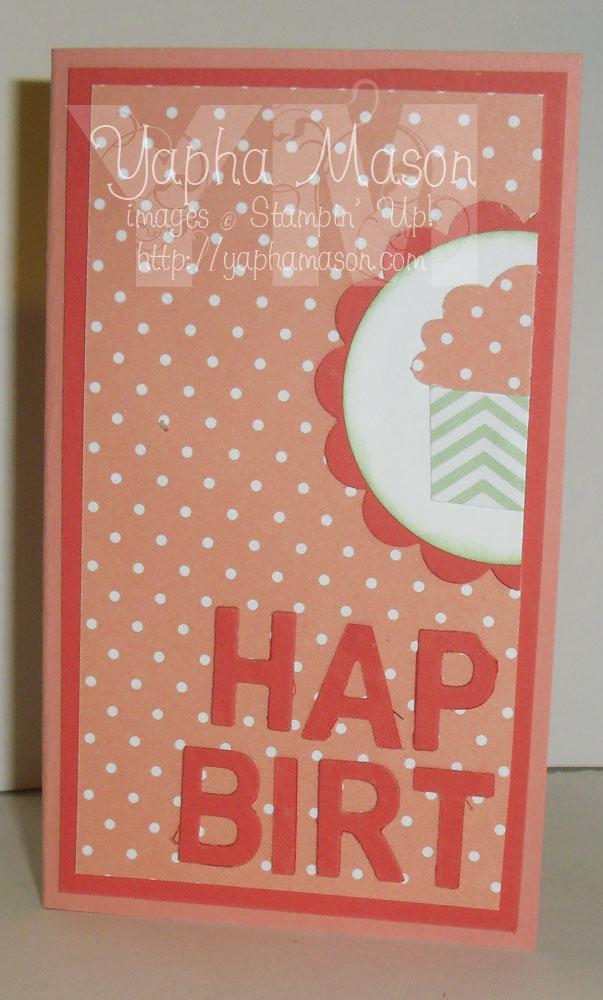 Half Birthday Card by Yapha