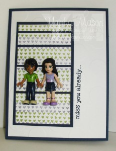 Lego Friends Miss You by Yapha