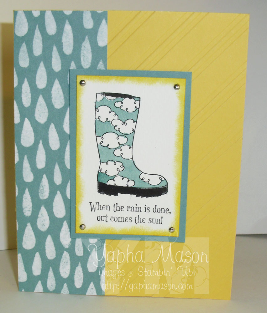 When the Rain is Done: Bootiful Occasions by Yapha