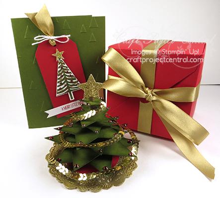 Christmas Tree Exploding Box Gift Set