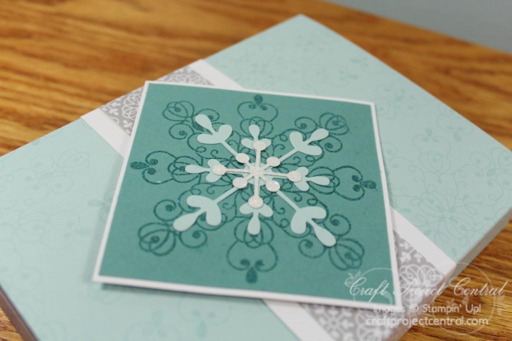 Snowflake Flip Cards & Mini Album 2