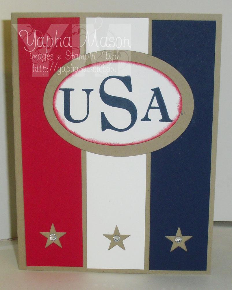 USA stars by Yapha