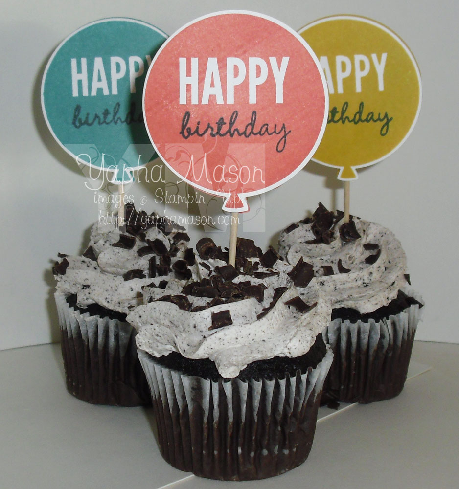 Cupcake Toppers by Yapha
