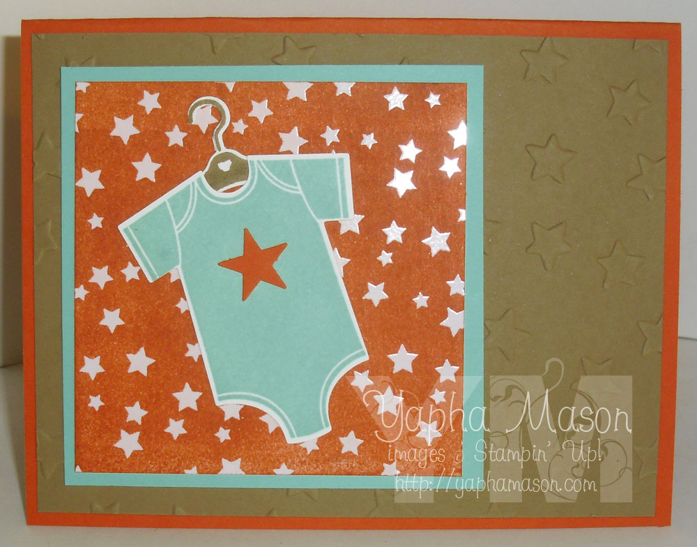 Baby Star Card by Yapha