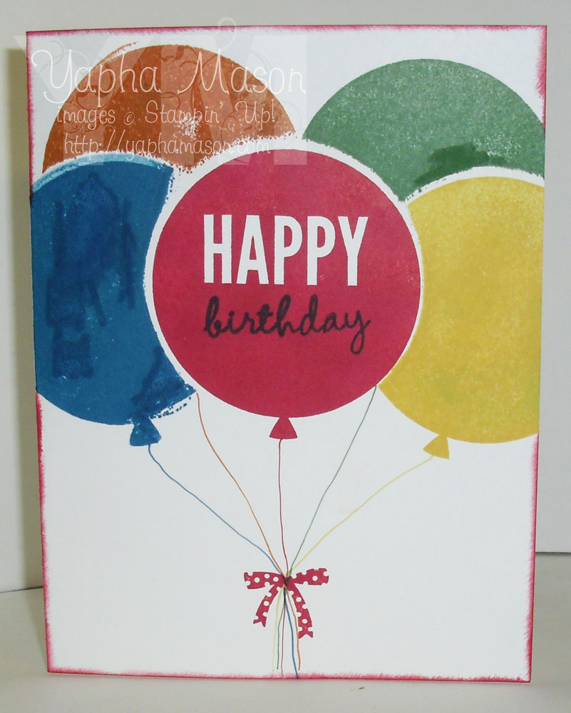 Birthday Balloons by Yapha