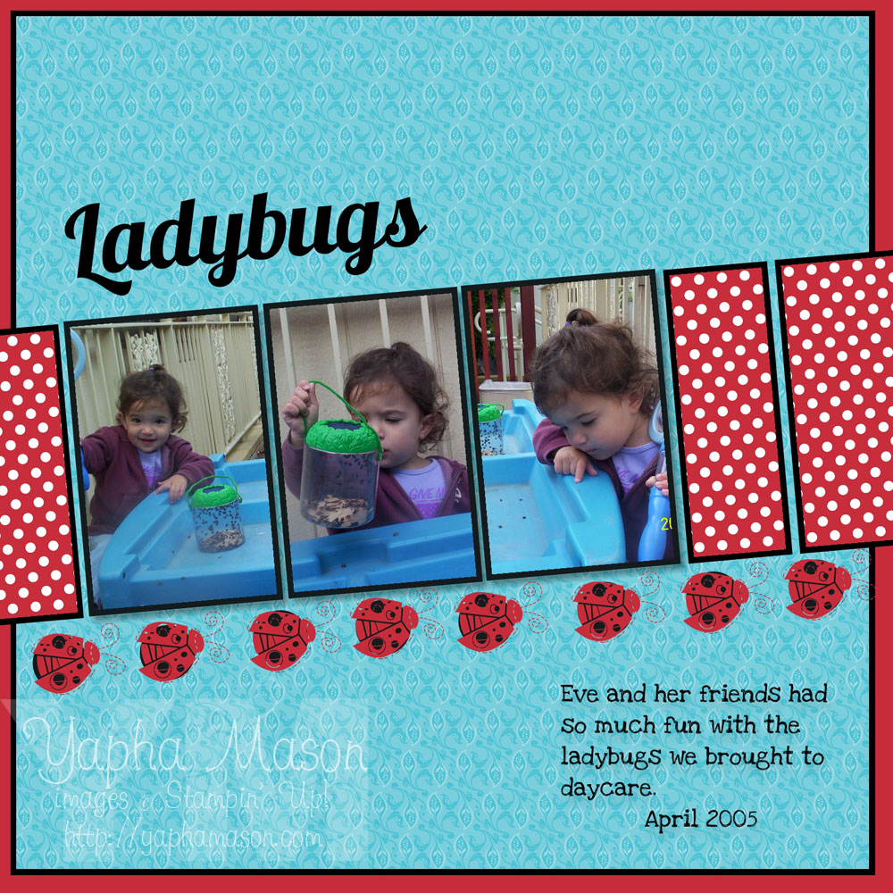 Ladybugs by Yapha