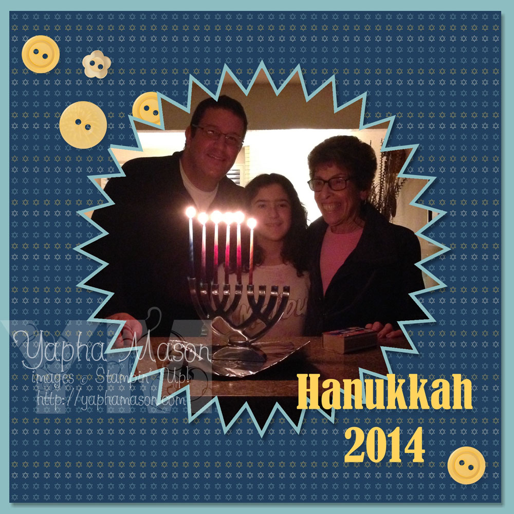 Hanukkah 2014 by Yapha