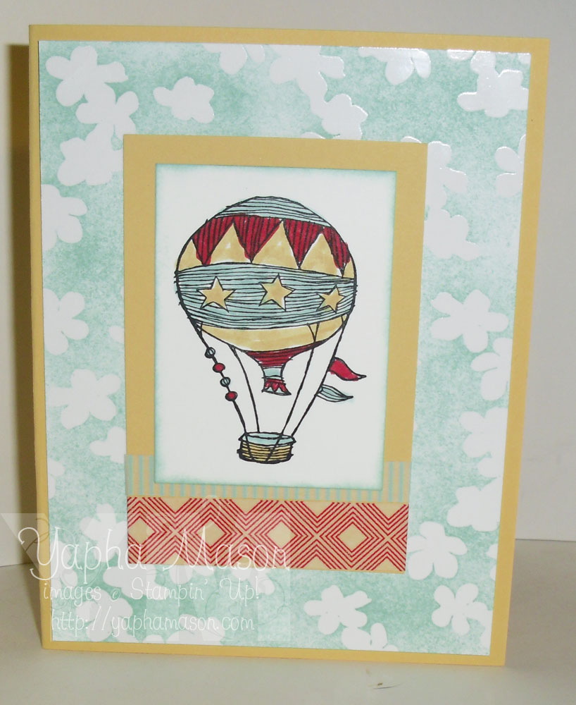 Hot Air Balloon by Yapha