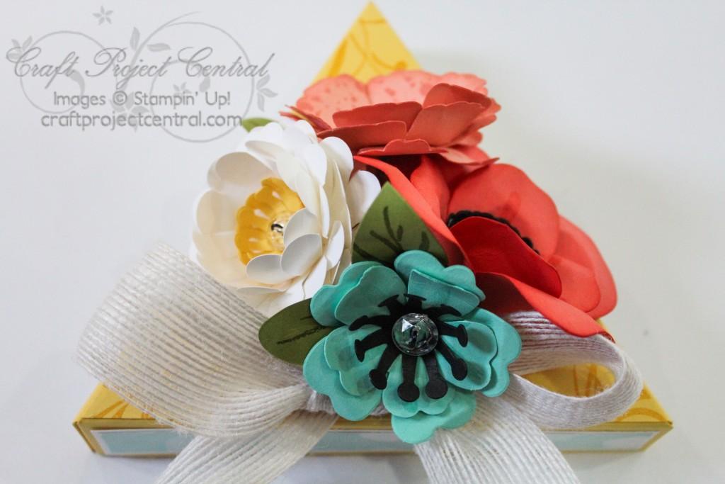 Floral Bouquet Explosion Box & Card SP
