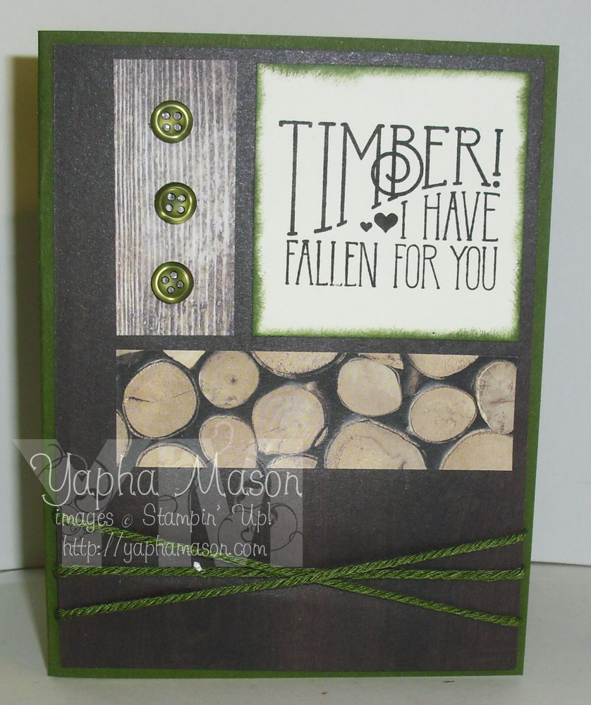 Timber card by Yapha