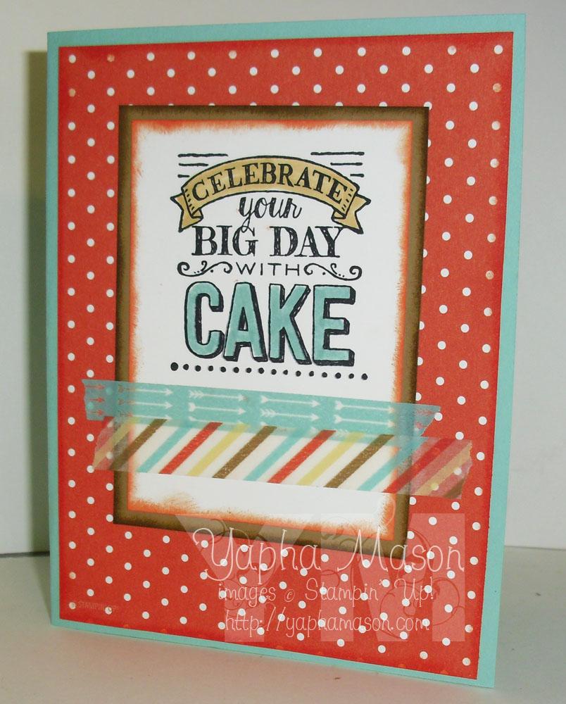 Big Day Card by Yapha