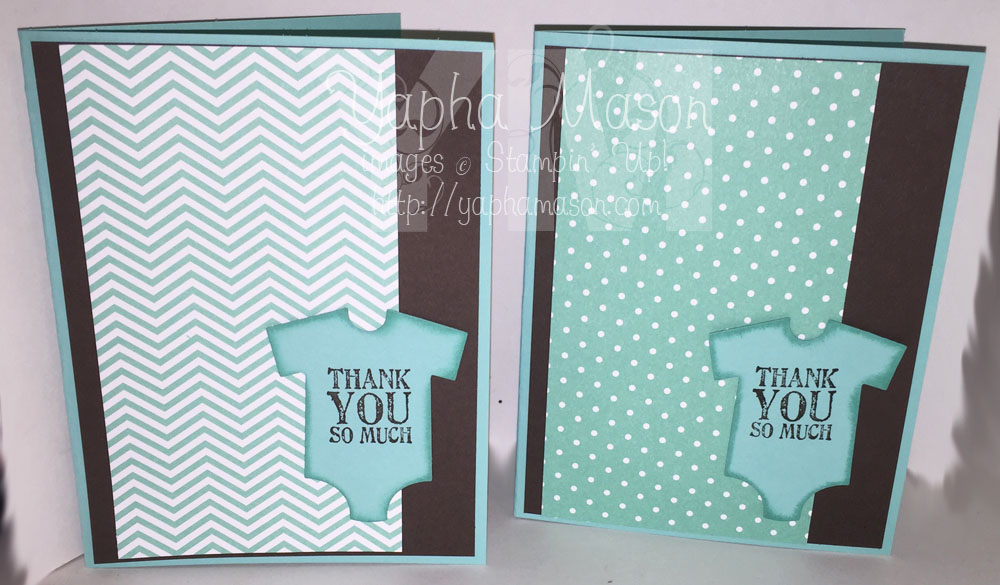 Baby Boy Thank You Cards by Yapha