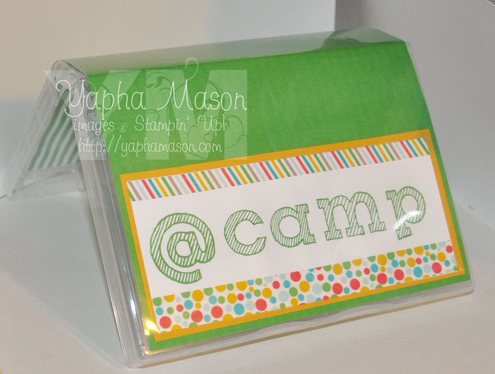Camp Stationery Case by Yapha