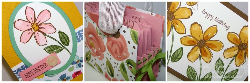 Floral Monthly Card Organizer & Card SP