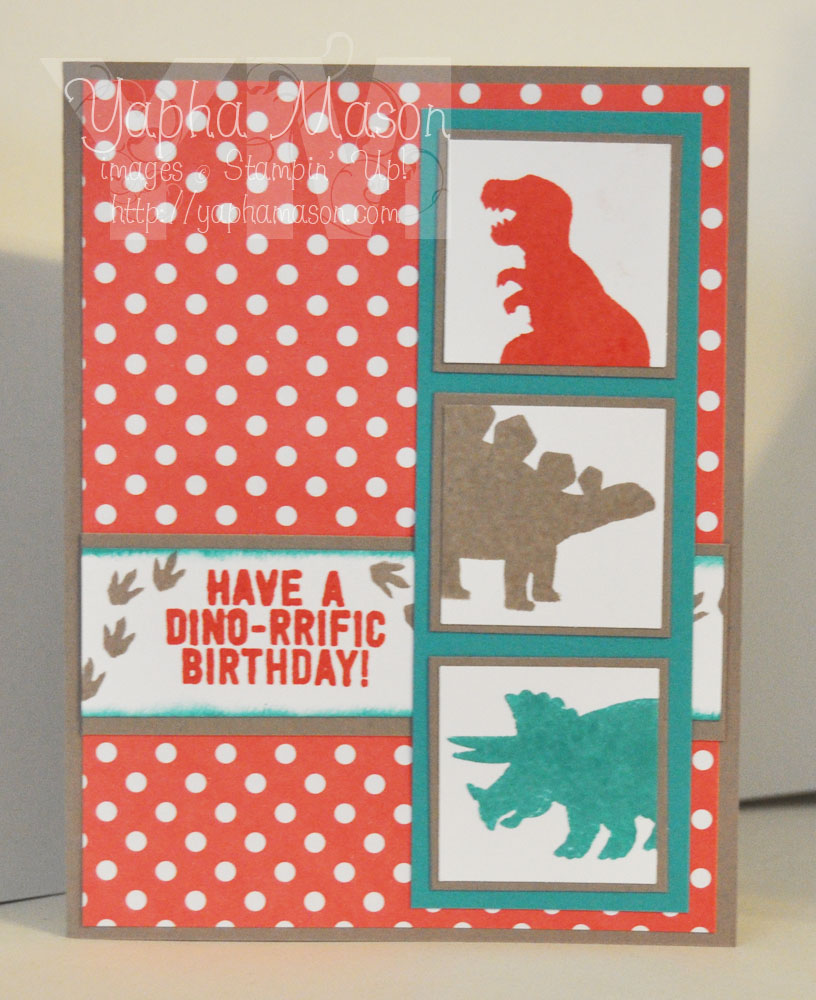 Birthday Dinosaurs by Yapha